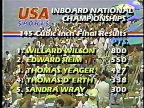 1985 Dayton Inboard Hydroplane Nationals