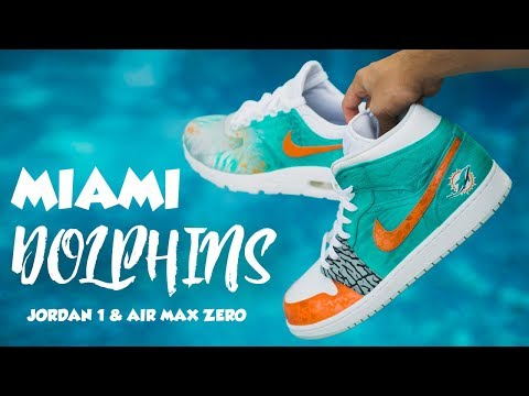 MIAMI DOLPHINS COLORWAY TUTORIAL - YouTube
