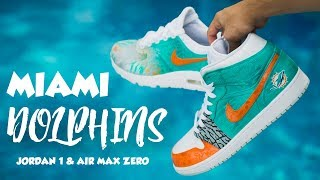 MIAMI DOLPHINS COLORWAY TUTORIAL