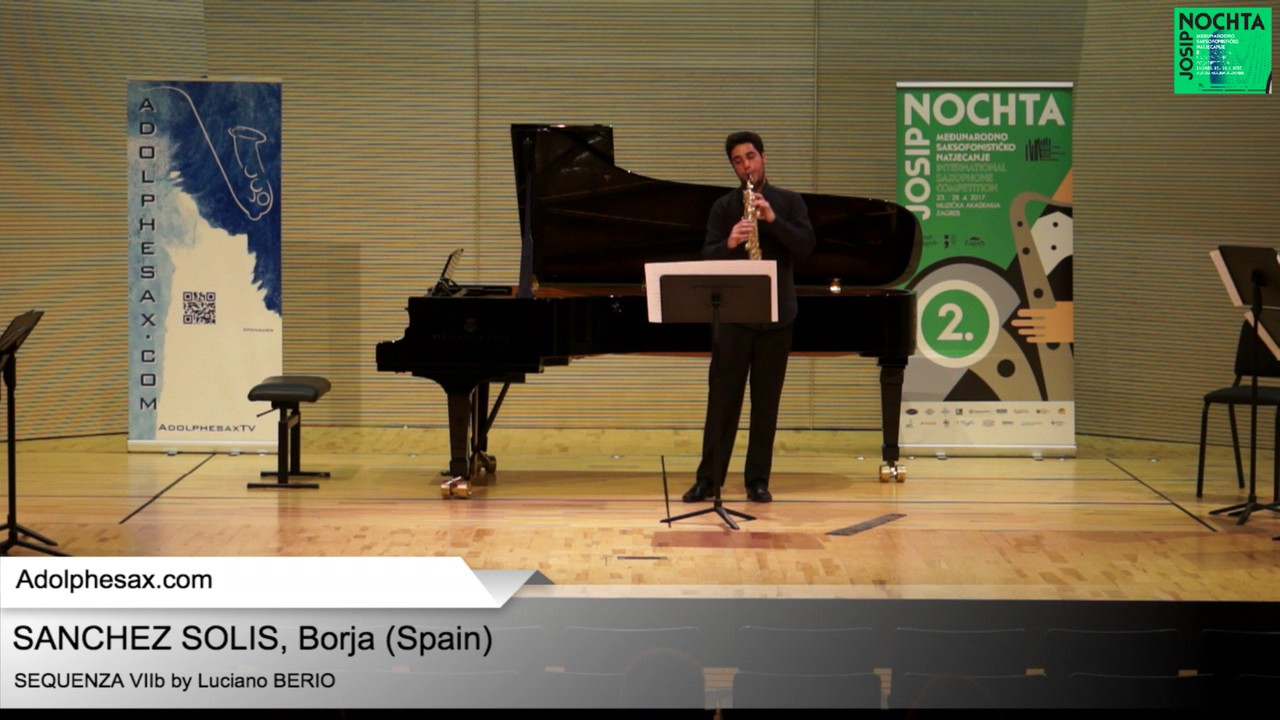 Sequenza VIIb by Luciano BERIO – Borja SANCHEZ SOLIS (Spain)