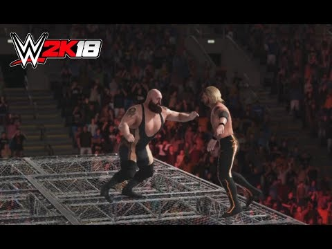 WWE-2K18-Edge vs Big Show - :Hell In A Cell  Match- Hell in A Cell 2018 -WWE-2K18-Gameplay
