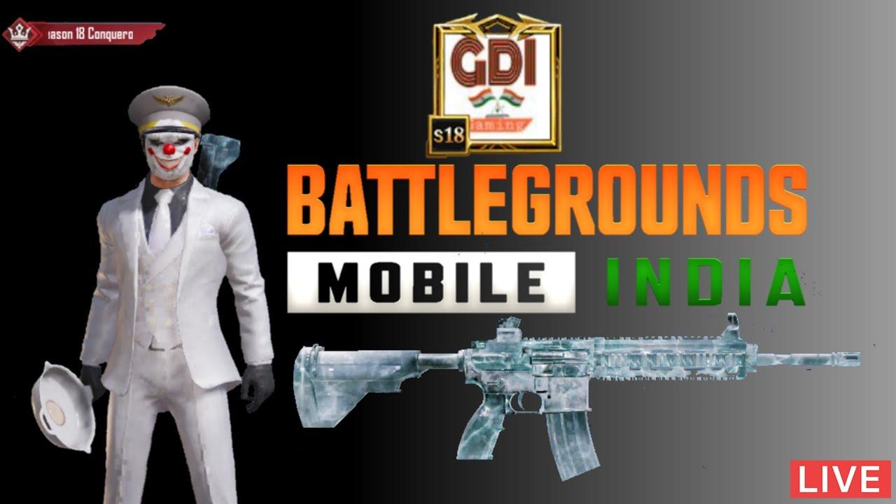 BGMI || C1-S4 Live Solo & Squad  Rush Gameplay  || GDI Gaming || Battlegrounds Mobile India
