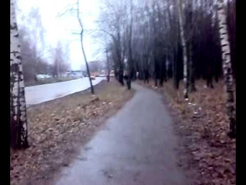 Rain walk around semashka ryazan........