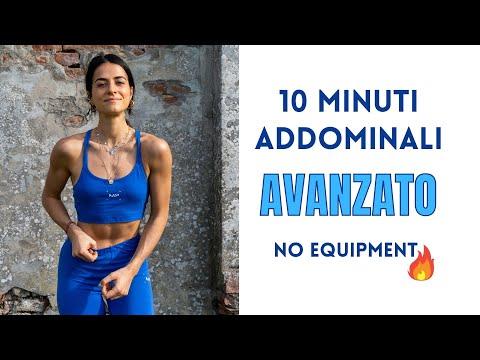 ADDOMINALI IN 10 MINUTI: LIVELLO AVANZATO, SENZA ATTREZZI | Silvia Fascians