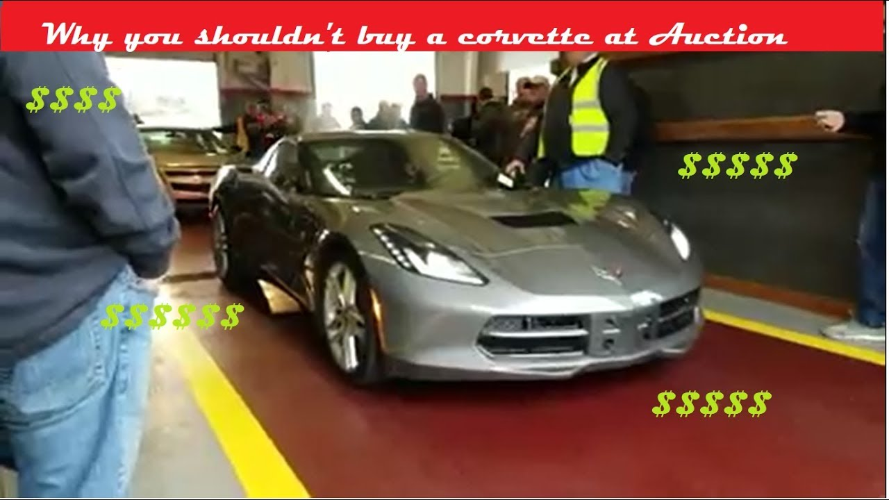 Heres why you cant buy a Corvette at auction!