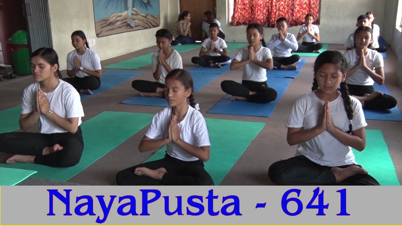 Just a reminder > Affection of Yoga | Commitment to stop child marriage | NayaPusta – 641