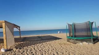 Видео отчёт море в Витязево 11.09.2016 7.30 утра