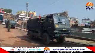 Security Forces deployed in parts of Jammu City