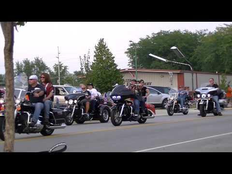 Traveling Vietnam Wall Motorcycle Escort