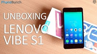 Lenovo Vibe S1 Review Videos