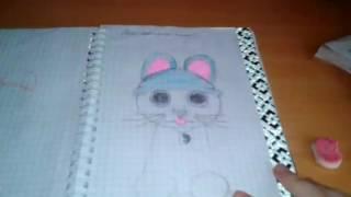 Как нарисовать кота? Видео урок. Я вам всё расскажу!