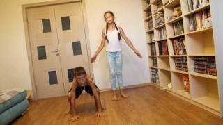 """Видео-урок """"Как научиться стоять на руках!"""""""