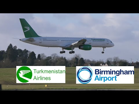 Turkmenistan Airlines Flight 421 (Ashgabat to BHX)