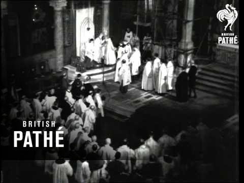 Archbishop Of Westminster Enthroned (1944)