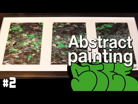 Abstract painting | #2 // Speed Paint