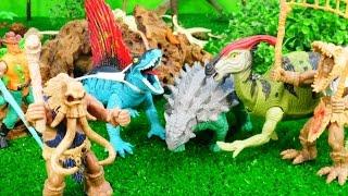 Мультик про динозавров. Игровые наборы с динозаврами. Часть 1.