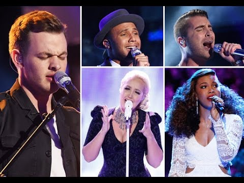 American Idol 2015 Week 17 - Top 5 & The Voice Week 10 - Reality Check