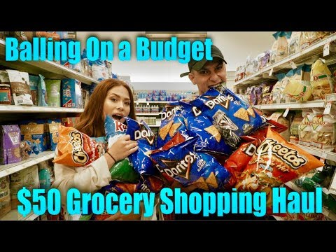 Balling on a Budget | $50 Grocery Shopping Haul for the Week