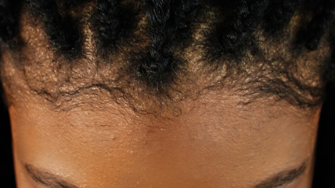 How To Slick Edges For Natural C Hair YouTube - Edges hair