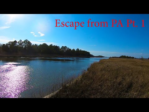 ESCAPE FROM PA Pt. 1 - Delaware Canal Schoolie Stripers