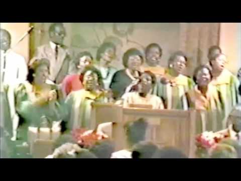 "Lord's Missionary Baptist Church Choir feat. Mother J. Garrett - ""Just Over The Hill"""
