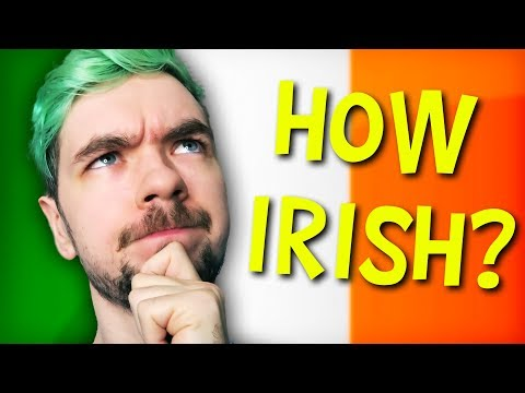 HOW IRISH IS JACKSEPTICEYE? | DNA Test