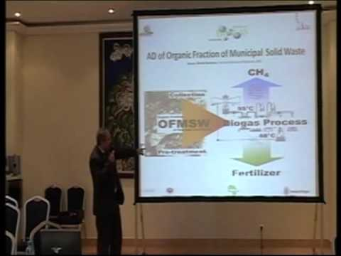 Morocco - Prof Hassan EL BARI - Urban Organic Waste and the Biogas Technology - Maroc