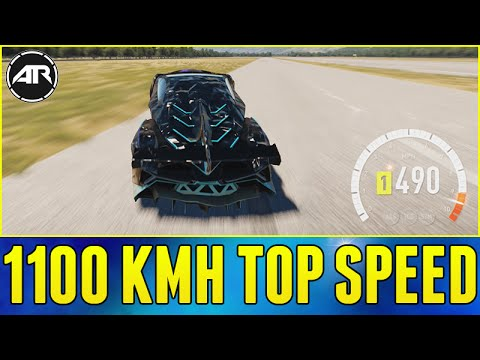Forza Horizon 2 : 1100 KMH TOP SPEED RUN!!! (How To Hit 1000+ KMH In FH2) [Let's Fail]
