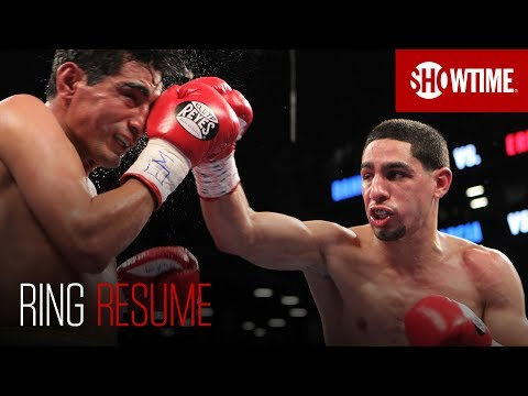 Ring Resume: Danny Garcia | SHOWTIME Boxing