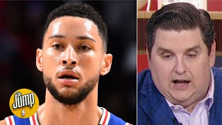 Ben Simmons doesn't seem to want to change his game for Joel Embiid - Brian Windhorst | The Jump