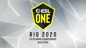 LIVE: Lucid Dream vs Beyond - ESL One Rio 2020 - Asia Minor SEA Closed Qualifier Day #1
