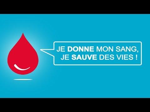 Vidéo Pub TV: EFS - Je donne mon sang, je sauve des vies !