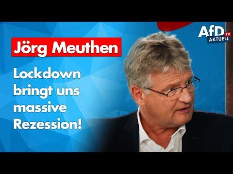 AfD aktuell: Jörg Meuthen zu den Lockdown-Folgen