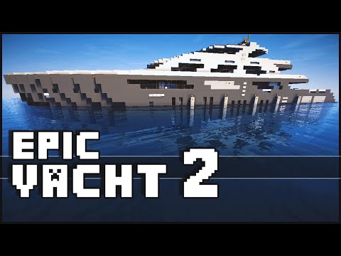 Minecraft - Super Epic Yacht 2
