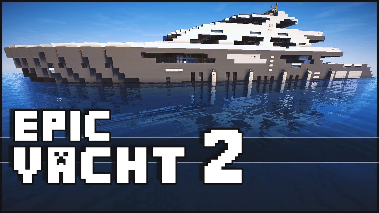 Minecraft Super Epic Yacht 2