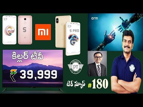 technews 180 MiTV 4,ARM ML & ARM OD,Nokia 9,Redmi Note 5 & Note 5 Pro etc