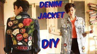 Denim Jacket DIY || 2 WAYS!!!