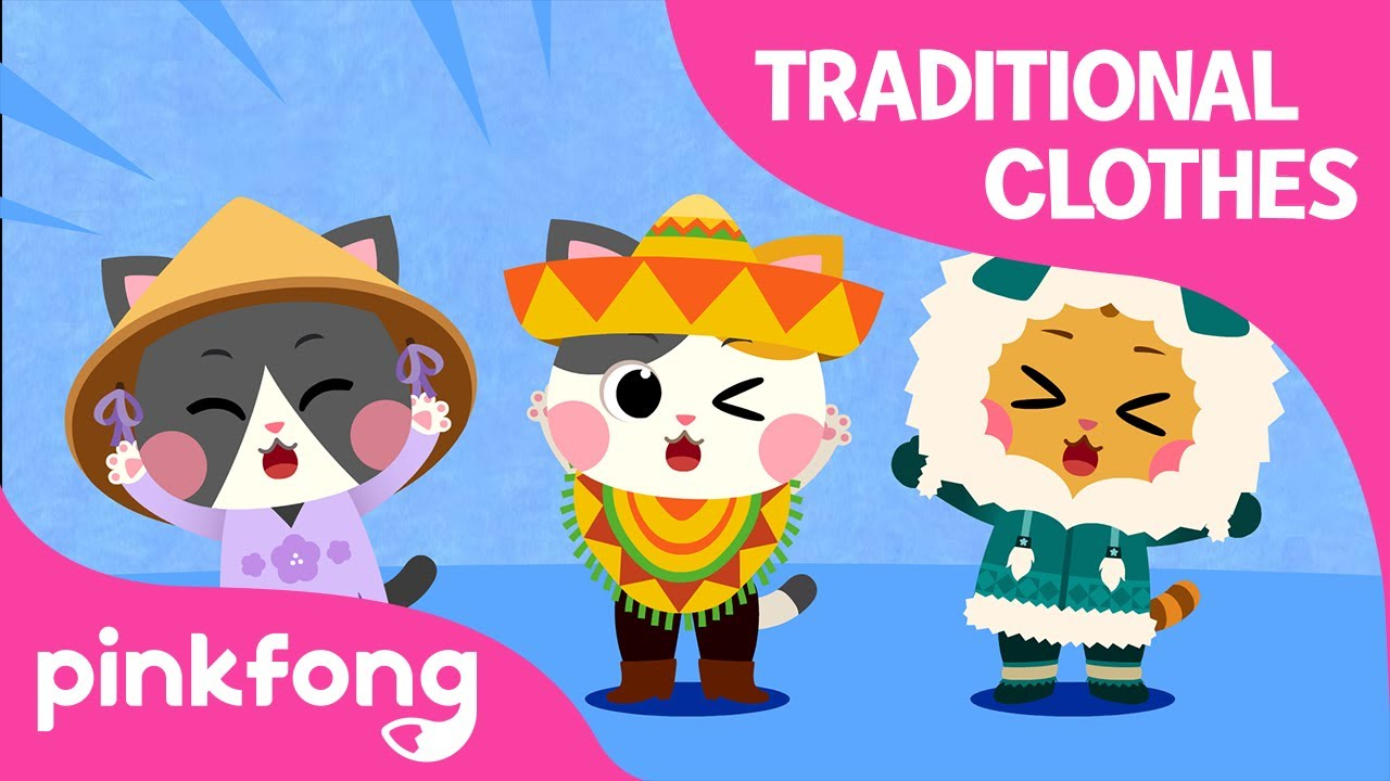 Lalala World Clothes | The World Song | Cotomo Cats | Pinkfong Songs for Children