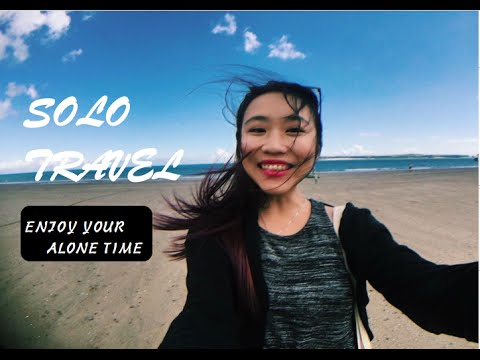 Solo Travel: Enjoy your alone time -Tenby Vlog