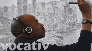 Autistic Artist Stephen Wiltshire Can Draw Entire Cities From Memory