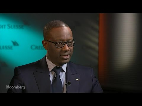 Credit Suisse CEO Thiam on Trading Revenue and Equities Volatility