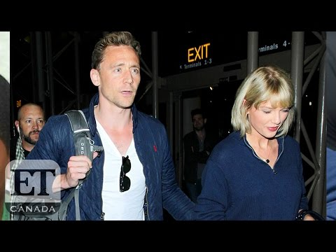 Taylor Swift And Tom Hiddleston Face Crazy Airport Paparazzi