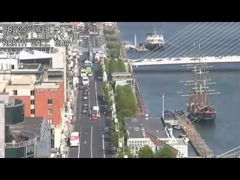 A Sunny Day In Dublin, Ireland (S.I.P.T.U webcam)