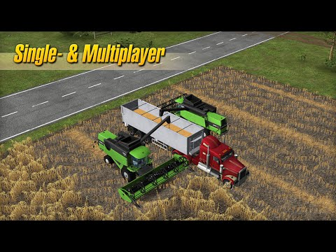 Farming Simulator Real Game - Official HD GamePlay Trailer