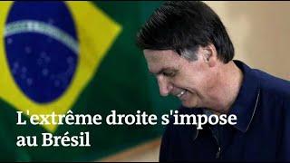 Jair Bolsonaro : le candidat d'extrême droite en tête au Brésil