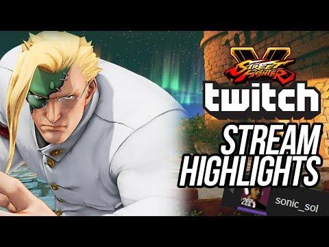 SFV - SonicSol Stream Highlights for Street Fighter 5 Season 2