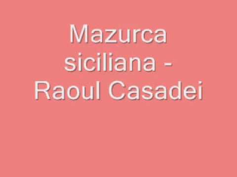 Mazurca siciliana - Raoul Casadei