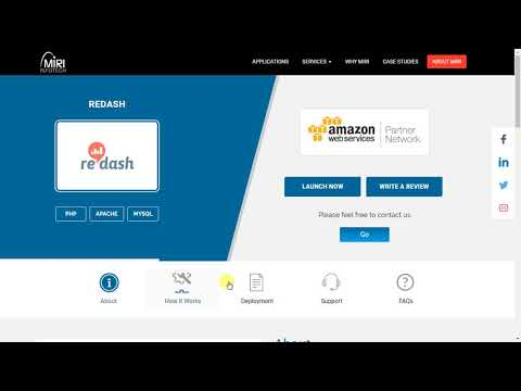 Redash | Steps for AWS Installation powered by Miri Infotech
