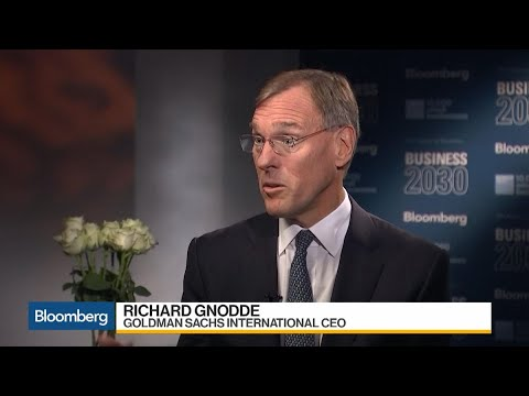 Goldman's Gnodde on Markets, Wealth Management, Brexit, Chin