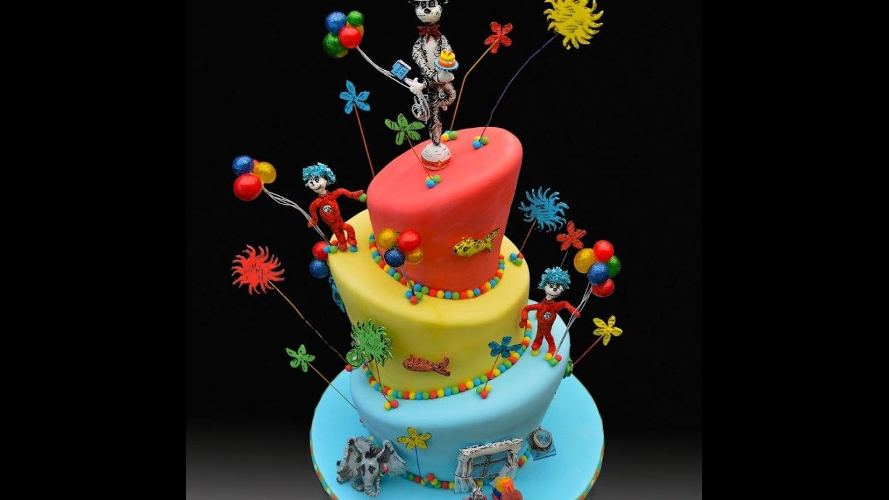 Great Dr Seuss Birthday Cake Ideas